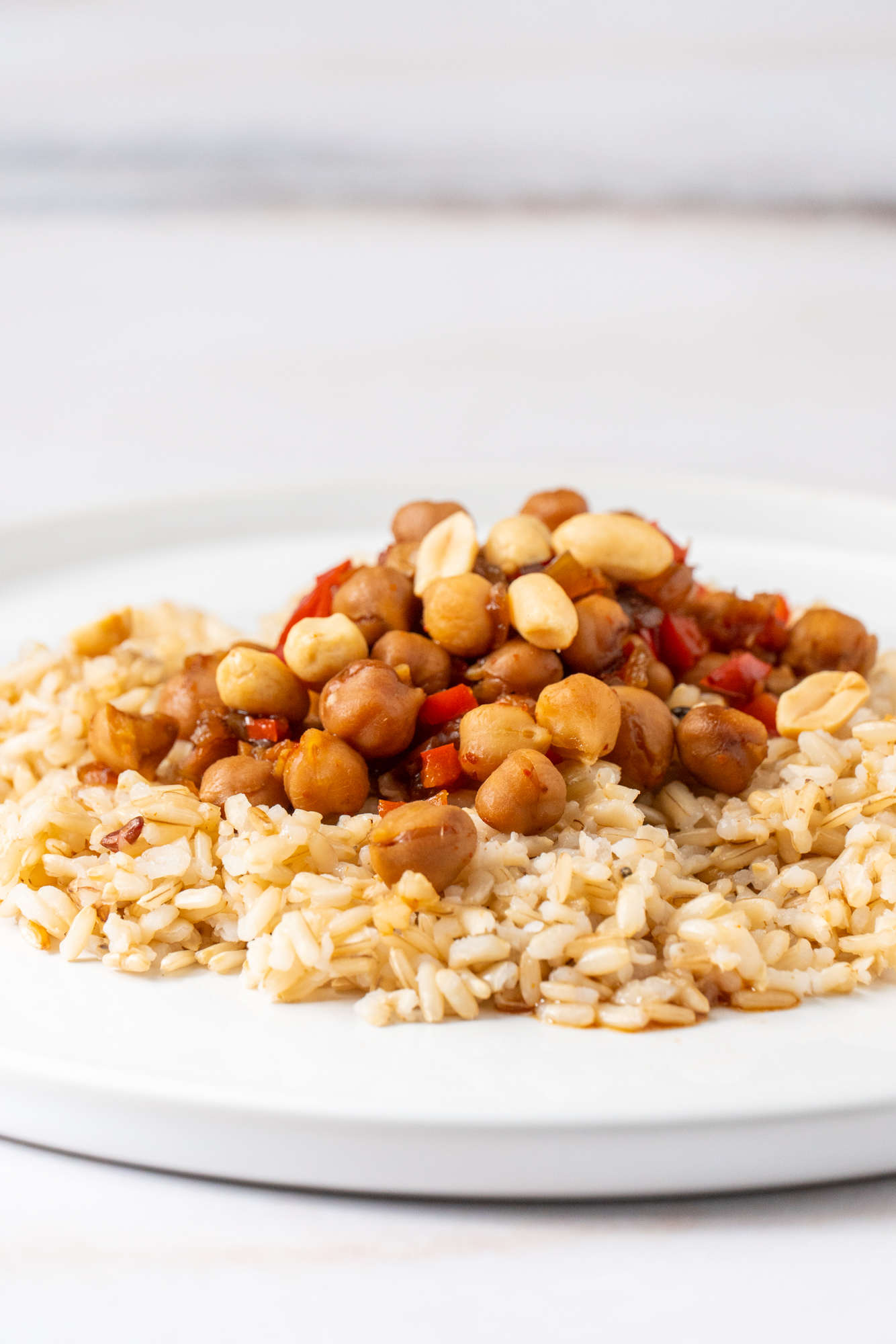 Asian-Style Chickpeas